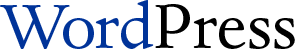 The original WordPress logo.
